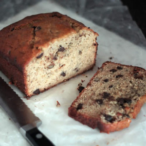 Banana Crunch Bread