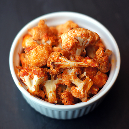 Roasted Buffalo Cauliflower | Mayhem in the Kitchen!