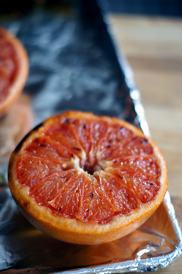 Broiled Grapefruit - sweetness without so much sugar!