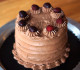 Devil's Food Cake with Amaretto Frosting - this cake is absolutely sinful!