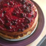 Cheesecake with Berry Compote