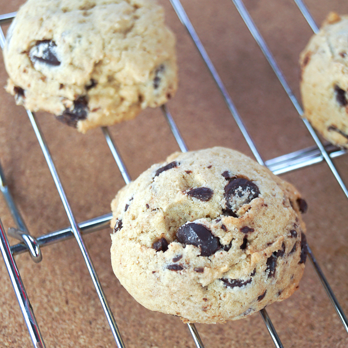 Cakey Chocolate Chip Cookies (Chocolate Chip Cookie #12)