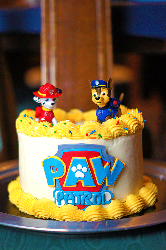 Stupendous Paw Patrol Birthday Cake Mayhem In The Kitchen Funny Birthday Cards Online Alyptdamsfinfo